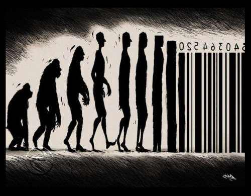 evolution into barcode