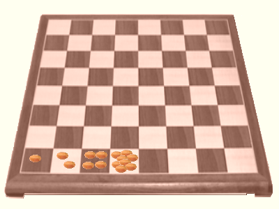 grains on chessboard