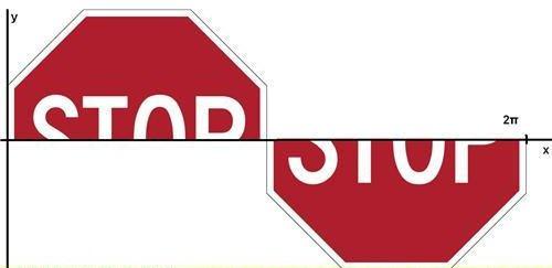 stop sine